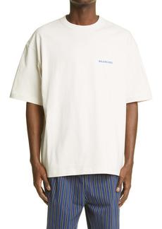 Balenciaga Logo Cotton Graphic Tee