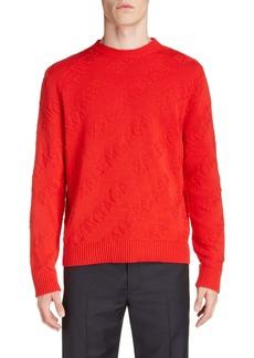 Balenciaga Logo Crewneck Sweater