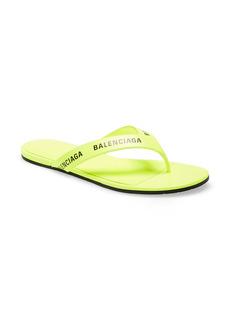 Balenciaga Logo Flip Flop (Women)