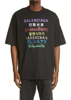 Balenciaga Logo Graphic Tee