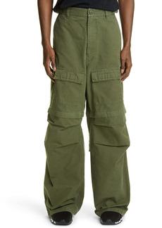 Balenciaga Relaxed Fit Convertible Cargo Pants
