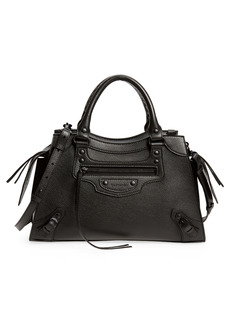 Balenciaga Small Neo Classic City Leather Top Handle Bag