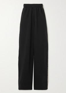 Balenciaga Cotton-jersey Track Pants