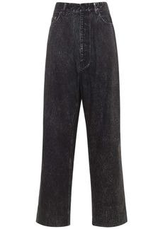 Balenciaga Cotton Poplin Trompe Baggy Pants