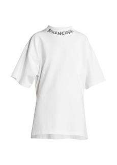 Balenciaga Curved Logo T-Shirt