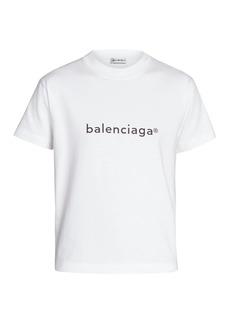 Balenciaga Fitted Logo T-Shirt