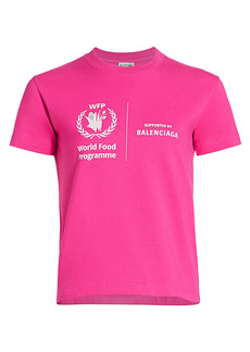 Balenciaga Fitted World Food Programme T-Shirt