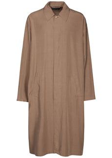 Balenciaga Fluid Lyocell Carcoat