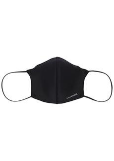 Balenciaga Logo Print Tech Mask
