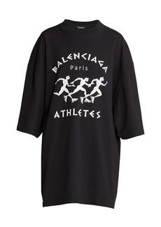 Balenciaga Oversized Logo T-Shirt