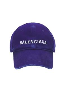 Balenciaga Vintage Denim Baseball Cap