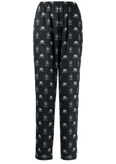 Balenciaga World Food Programme pajama trousers