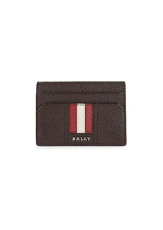 Bally Taclipos Pebbled Leather Money Clip