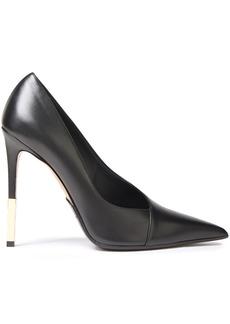 Balmain Woman Leather Pumps Black