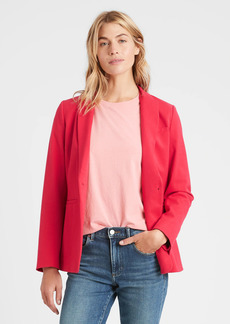 Banana Republic Long & Lean-Fit Washable Bi-Stretch Blazer
