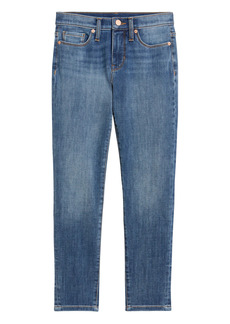 Banana Republic Petite Mid-Rise Skinny Jean with Back-Seam