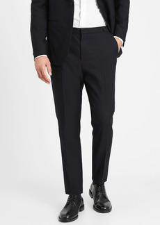 Banana Republic Slim Tapered Navy Italian Wool Tuxedo Pant