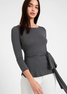 Banana Republic Threadsoft Tie-Front Top