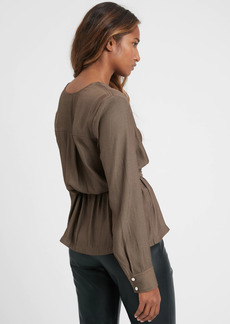 Banana Republic Tie-Waist Blouse