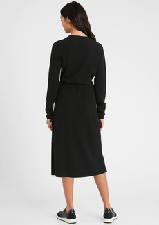 Banana Republic Wrap Sweater Dress