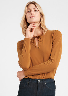 Banana Republic Wrinkle-Resistant Keyhole Top