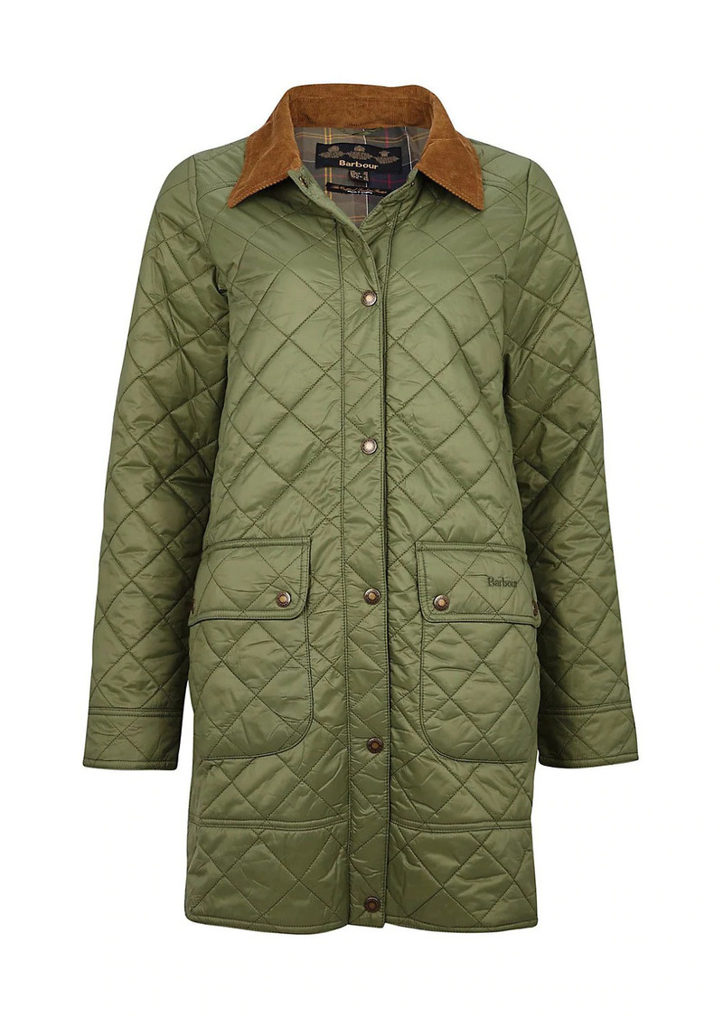Barbour Avebury Quilted Long Jacket