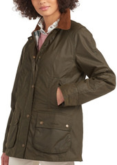Barbour Aintree Waxed-Cotton Jacket