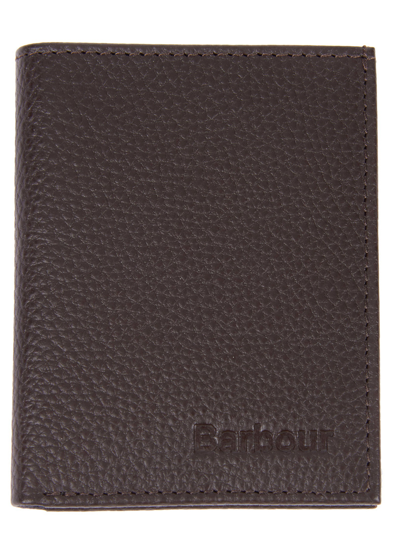 Barbour Amble Small RFID Leather Billfold Wallet