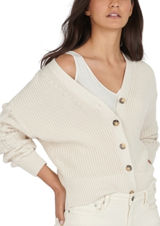 Barbour Balmory Cotton Button-Up Cardigan
