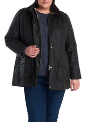Barbour Beadnell Waxed Cotton Jacket (Plus Size)
