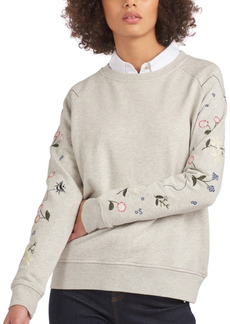 Barbour Bowland Embroidered Sweatshirt