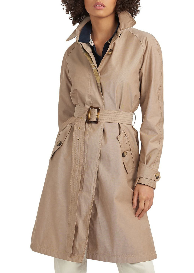 Barbour Brunswick Belted Trench Coat
