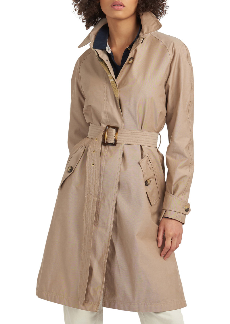 Barbour Brunswick Belted Trench Raincoat