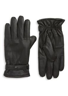 Barbour Burnished Leather Gloves