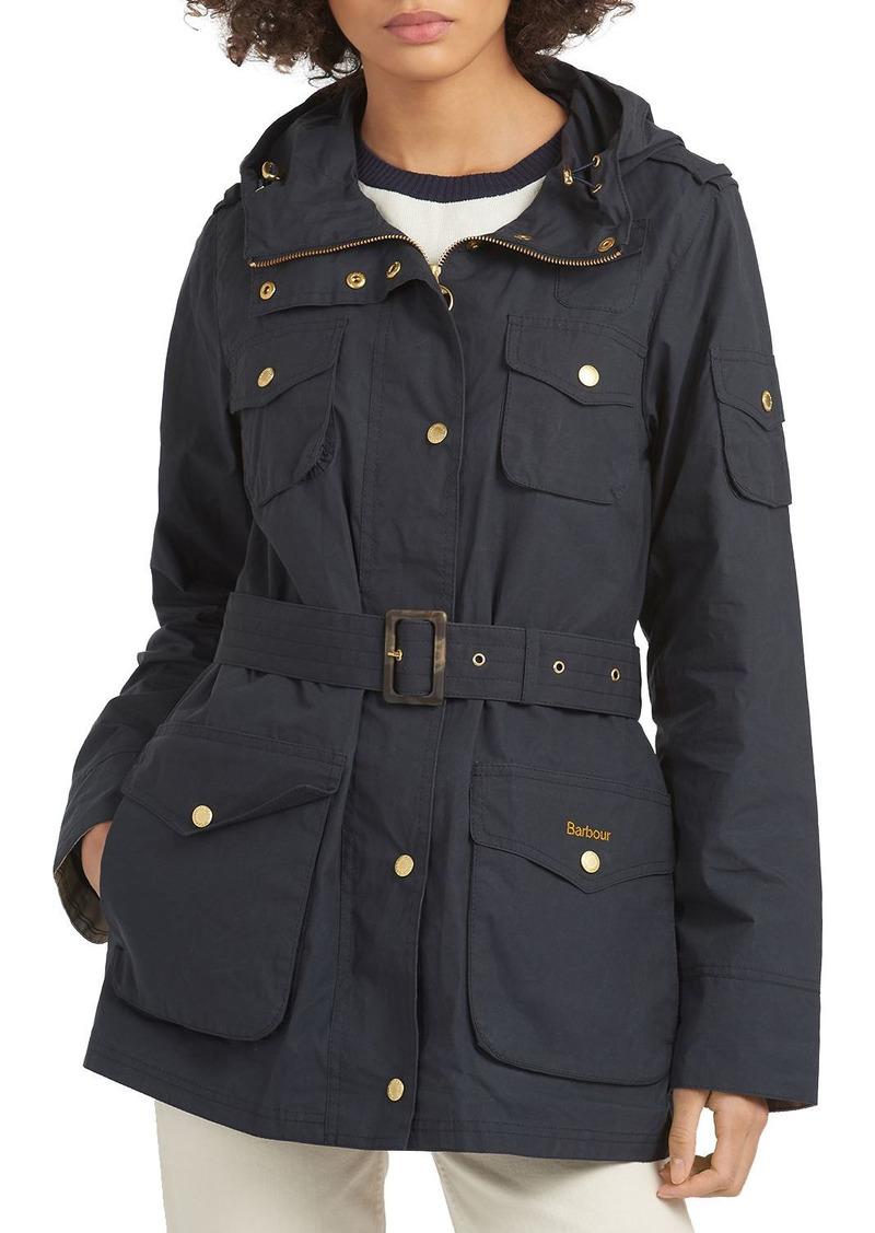 Barbour Collins Hooded Showerproof Utility Jacket