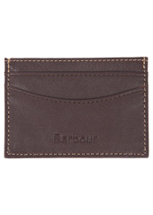 Barbour Elvington RFID Leather Card Holder