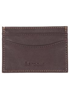 Barbour Elvington RFID Leather Card Holder