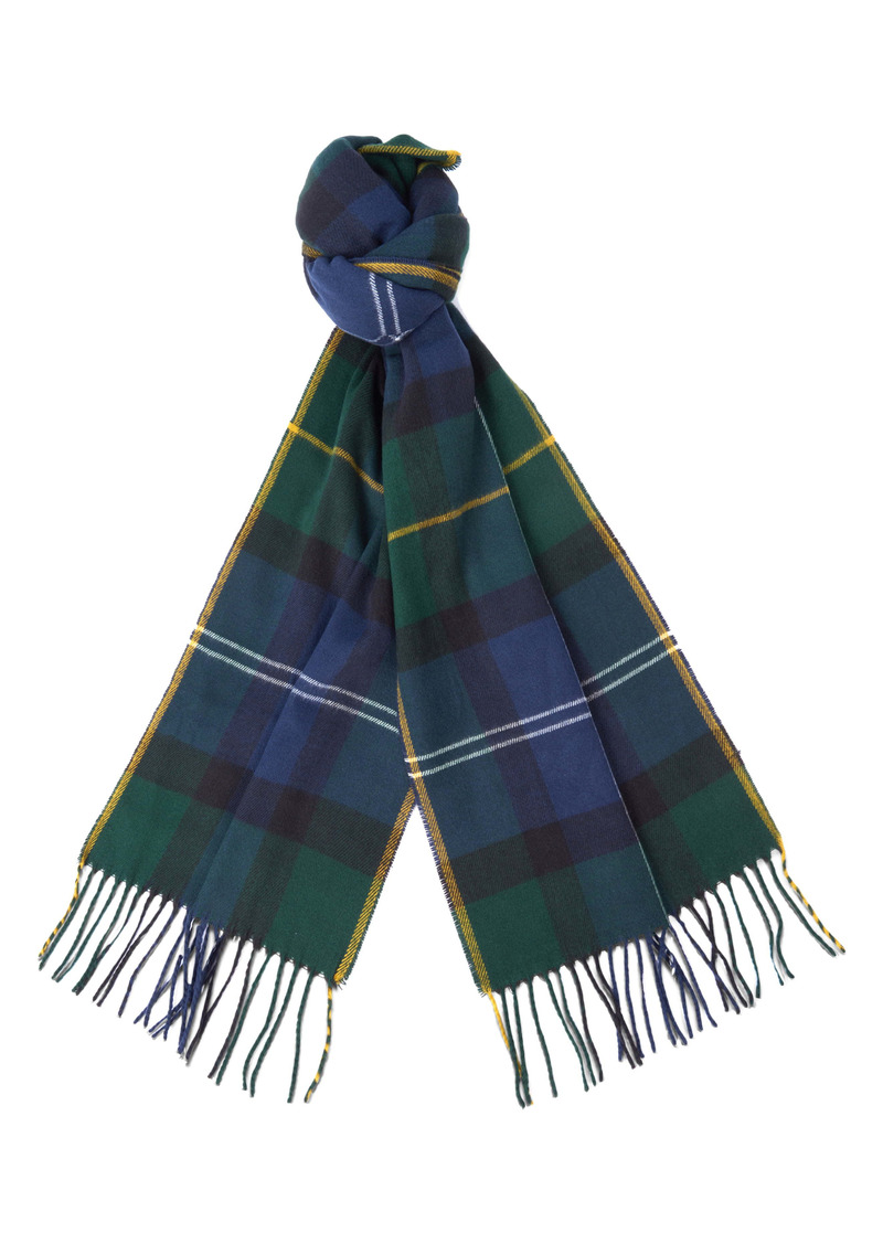 Barbour Galingale Plaid Scarf