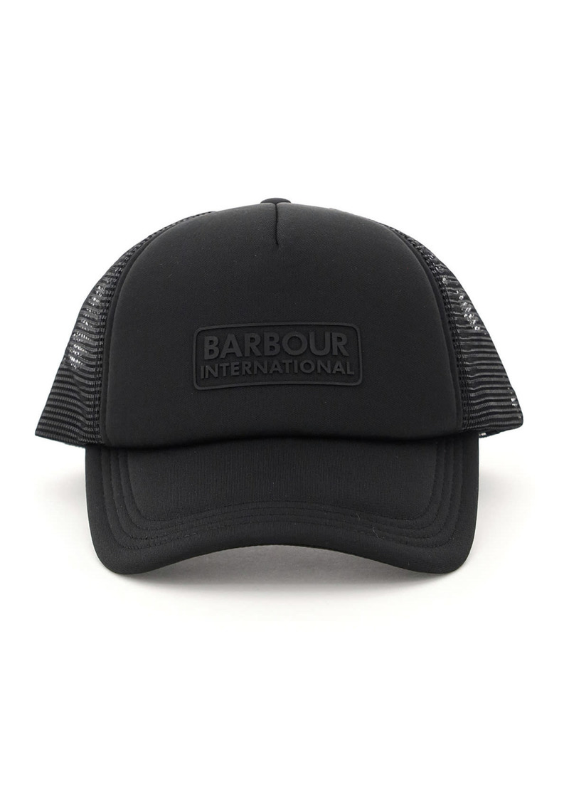 Barbour Heli Trucker Barbour Baseball Cap