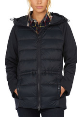 Barbour Hooded Puffer Jacket