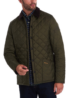 Barbour Liddesdale® Tailored Fit Quilted Nylon Jacket