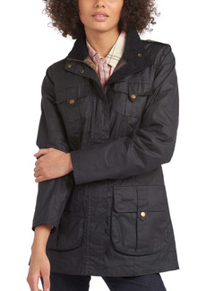 Barbour Lightweight Defence Waxed Cotton Jacket