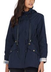 Barbour Lothian Showerproof Hooded Raincoat