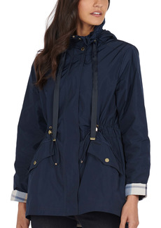 Barbour Lothian Showerproof Hooded Raincoat