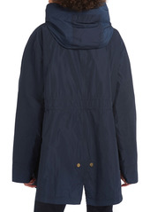 Barbour Lothian Showerproof Hooded Raincoat (Plus Size)