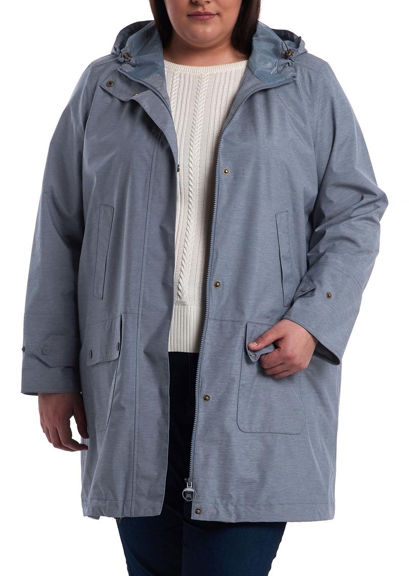 Barbour Lottie Hooded Waterproof Raincoat (Plus Size)