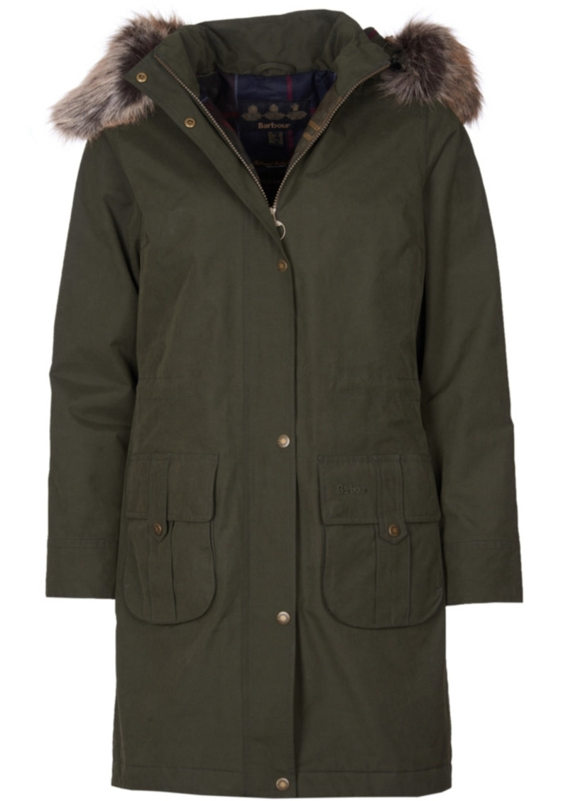 Barbour Lynn Waterproof Hooded Parka Coat