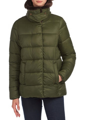 Barbour Mullein Faux Fur Trim Quilted Jacket