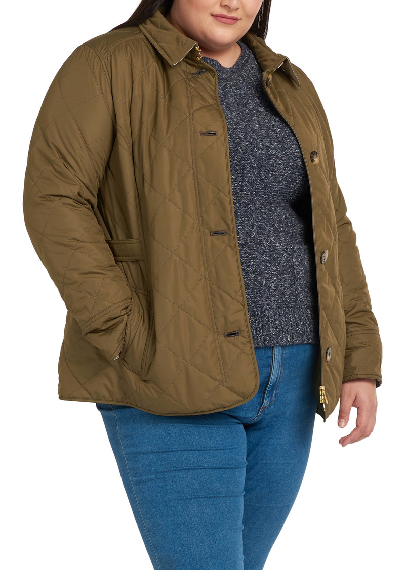 Barbour Nelson Quilted Jacket (Plus Size)