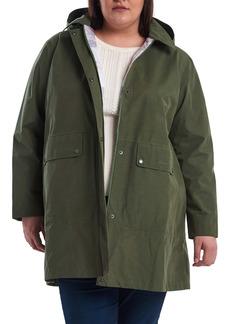 Barbour Outflow Waterproof Hooded Raincoat (Plus Size)